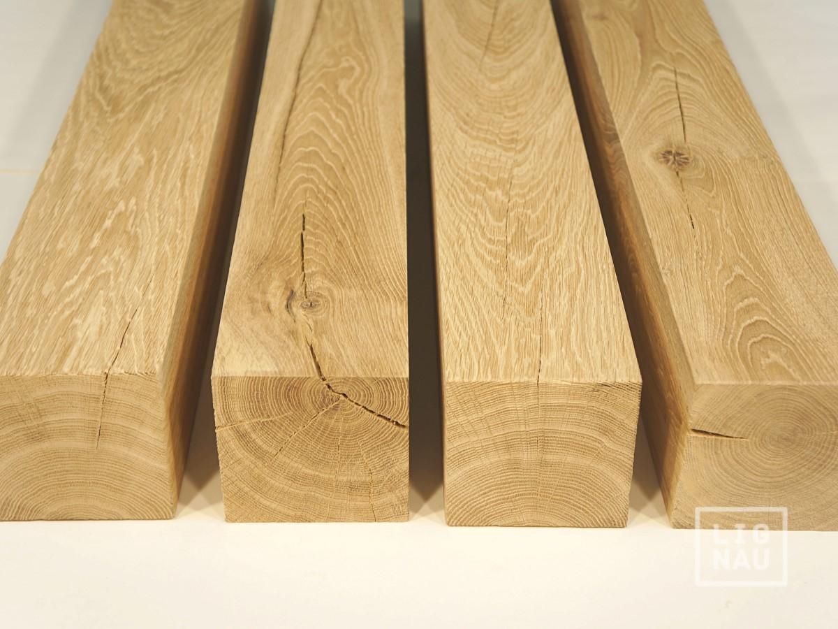 m belf eiche untergestell tischbein kantholz holzbein. Black Bedroom Furniture Sets. Home Design Ideas