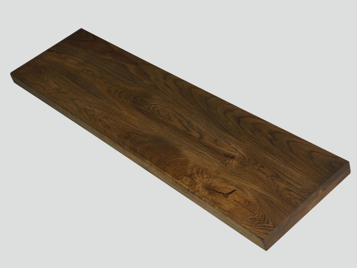 treppenstufen trittstufen arbeitsplatte regalb den eiche rustikal massiv ge lt ebay. Black Bedroom Furniture Sets. Home Design Ideas