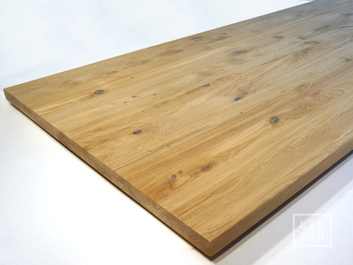wildeiche tischplatte massivholzplatte eiche 160cm auch. Black Bedroom Furniture Sets. Home Design Ideas