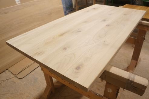 lignau arbeitsplatte massivholzplatte eiche rustikal 40. Black Bedroom Furniture Sets. Home Design Ideas