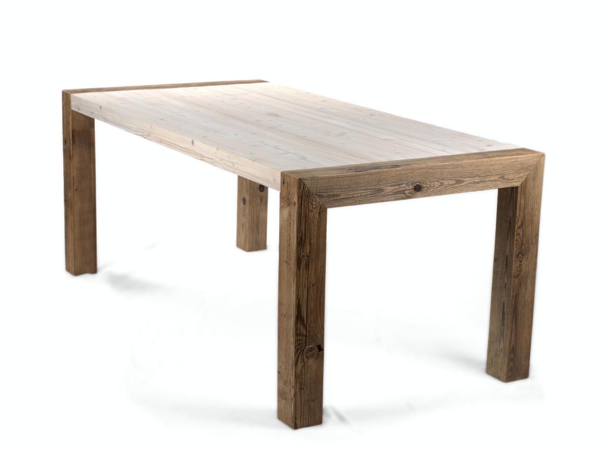 Lignau - Esstisch Küchentisch aus Altholz