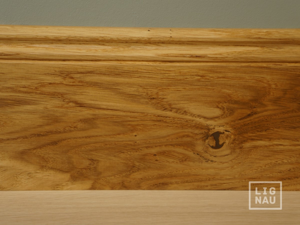 Fußleisten Holz
